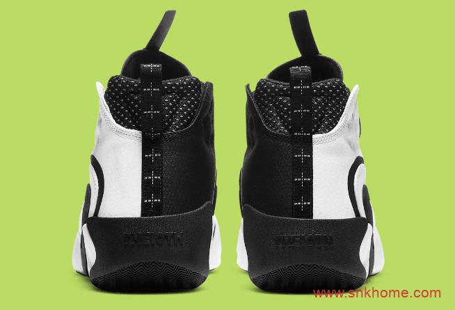 Nike React Frenzy 耐克黑白奥利奥跑鞋即将发售 耐克复古跑鞋 货号:CN0842-100-潮流者之家