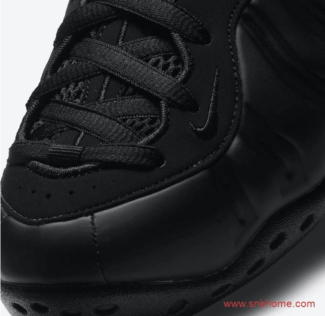 """耐克黑色喷泡复刻 Nike Air Foamposite One """"Anthracite"""" 耐克黑色喷发售日期 货号:314996-001-潮流者之家"""