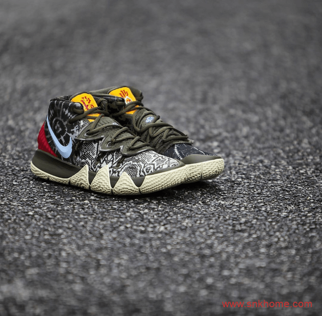 """耐克欧文最新球鞋融合三代欧文经典元素Nike Kybrid S2 """"What The"""" 欧文S2战靴发售日期货号:CQ9323-300-潮流者之家"""