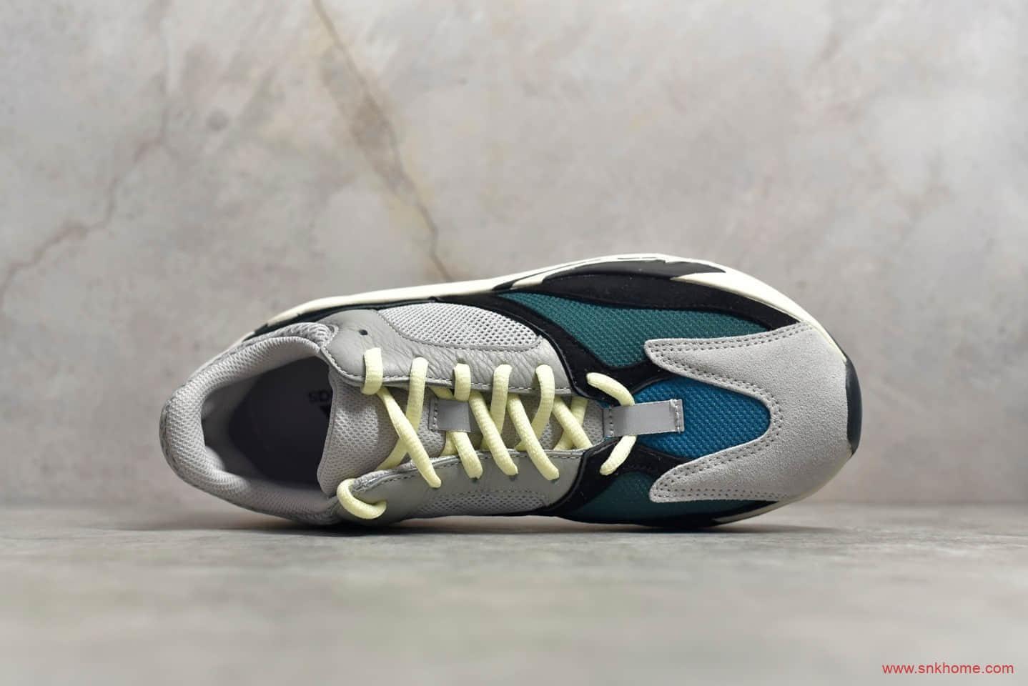 椰子700一代白灰配色Adidas Yeezy 700 Wave Runner Solid Grey 椰子700巴斯夫真爆纯原版本 货号:B75571-潮流者之家