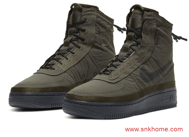 户外机能版 Air Force 1 Shell 耐克空军户外高帮鞋 空军两色高帮机械风发售日期-潮流者之家