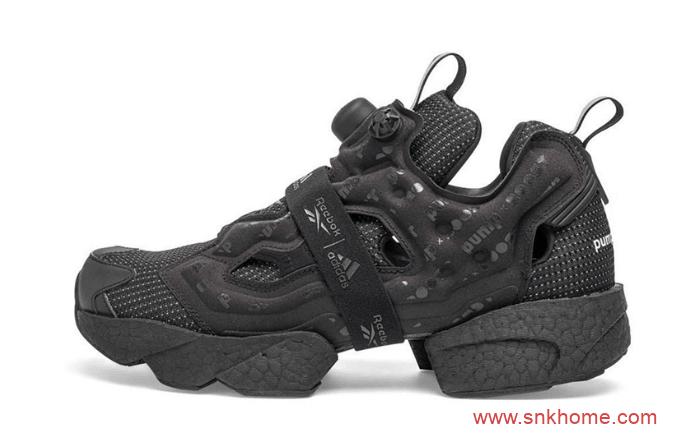 锐步阿迪达斯联名黑武士 Reebok Instapump Fury BOOST 锐步黑武士充气鞋发售日期 货号:G57662-潮流者之家