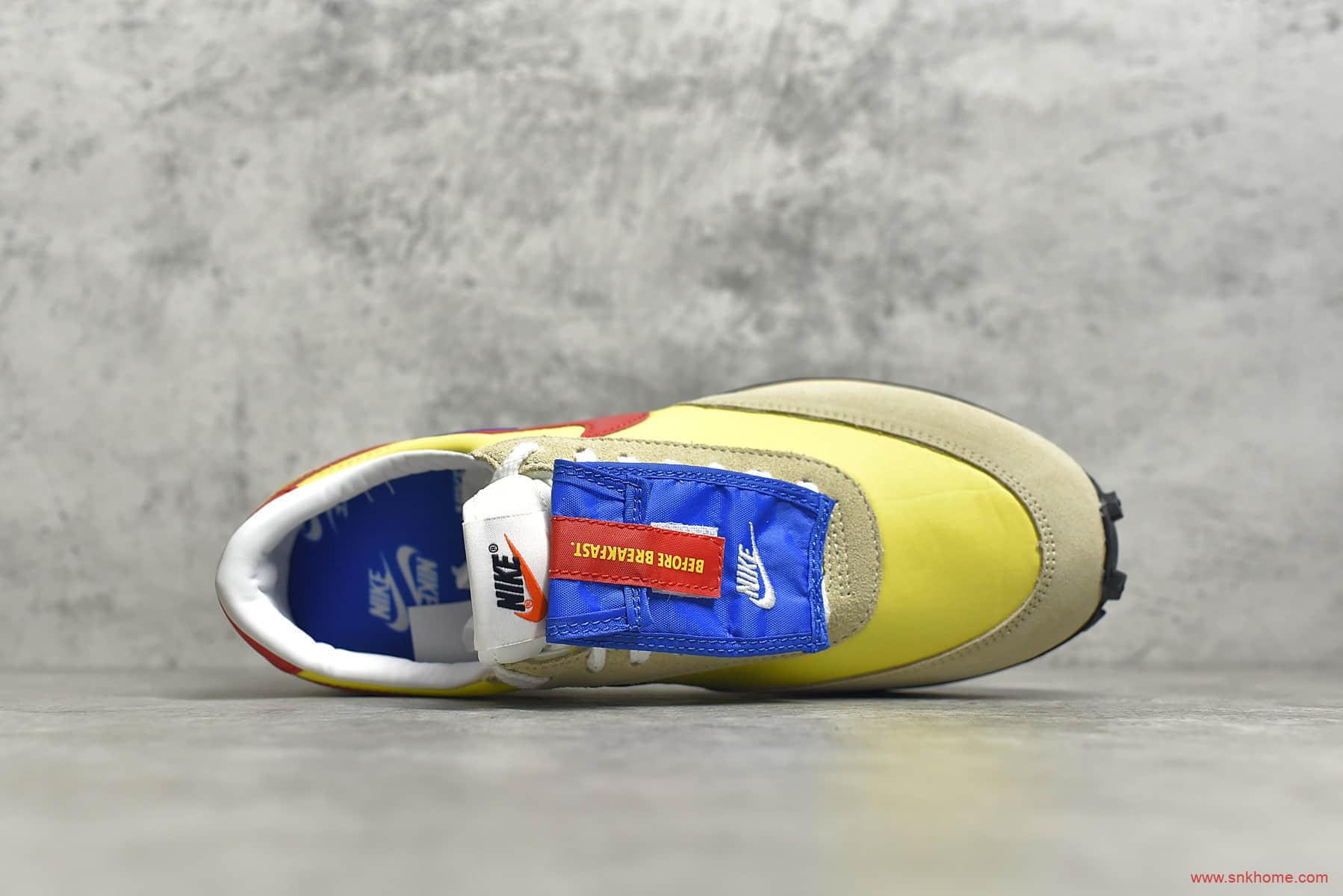耐克华夫异形复古彩色拼接 NIKE Dbreak SP优选 耐克高桥盾麂皮 货号:DC8083-735-潮流者之家