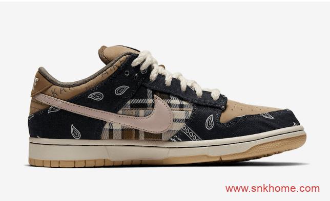 耐克Dunk SB斯科特联名国内将线下发售 Travis Scott x Nike SB Dunk Low国内发售日期 货号:CT5053-001-潮流者之家
