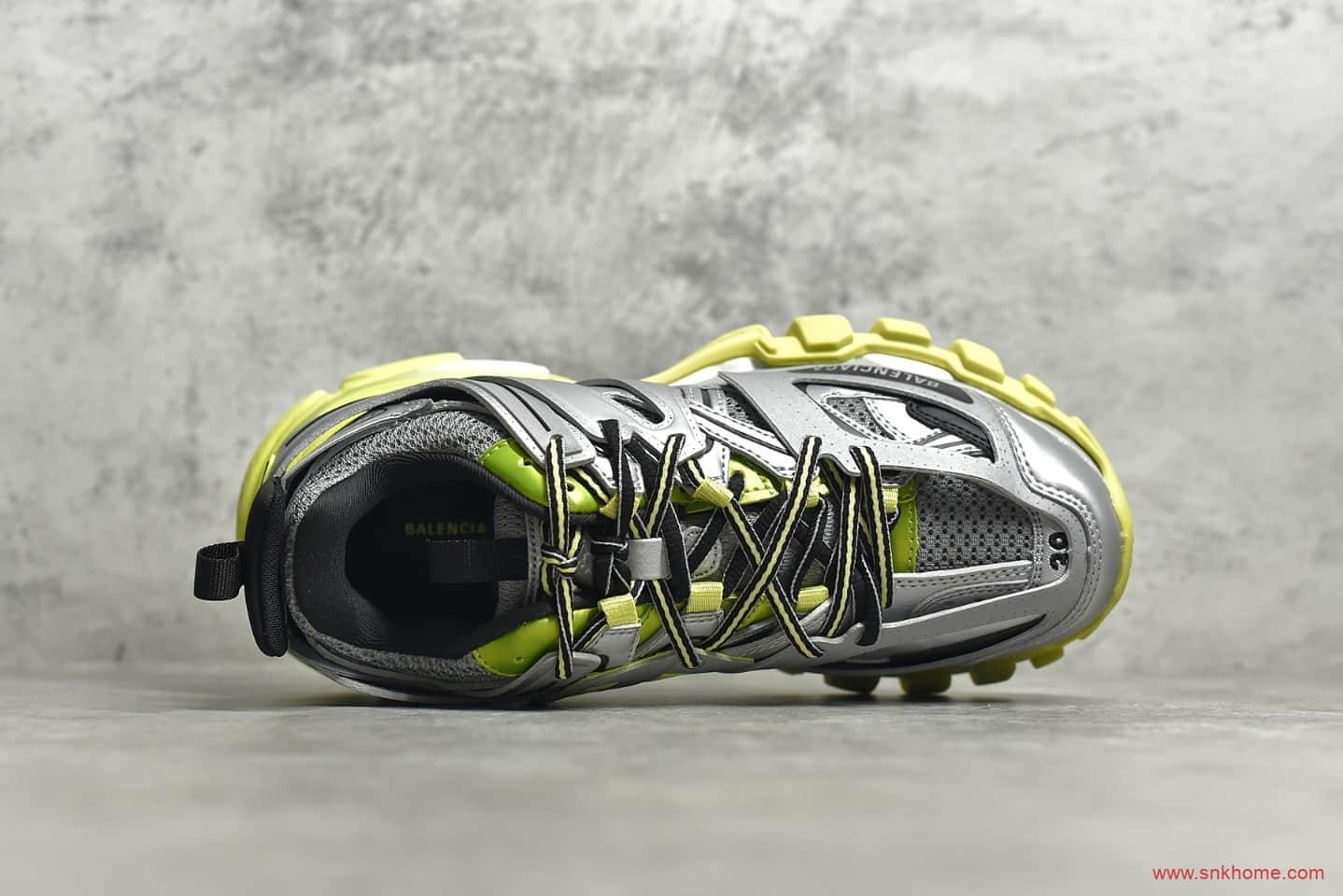 巴黎世家三代老爹鞋灰黄色 BALENCIAGA Trainers 3.0代 巴黎世家概念鞋莆田巴黎世家代工厂-潮流者之家