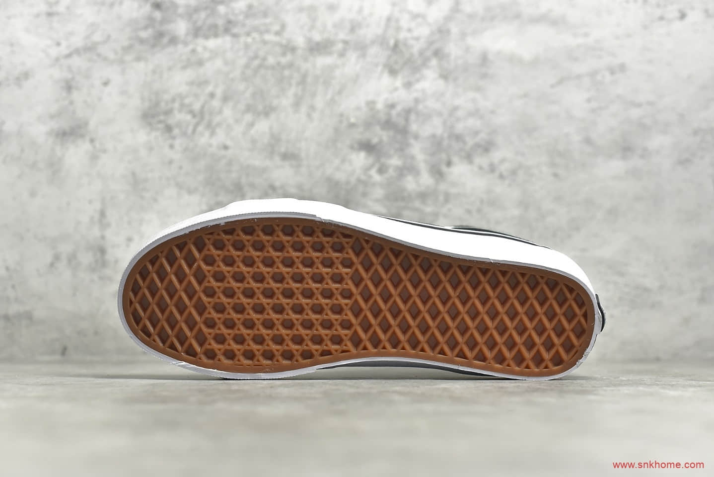 万斯黑灰阴阳高帮帆布鞋 万斯SK8高帮 MIX & MATCH SK8-HI U3C2PD 东莞万斯纯原版本-潮流者之家
