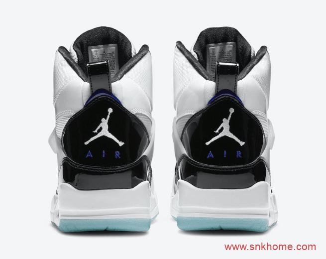 "AJ经典康扣配色 Jordan Flight 45 ""Concord"" 发售日期 实战AJ球鞋复刻 货号:DC2571-100-潮流者之家"