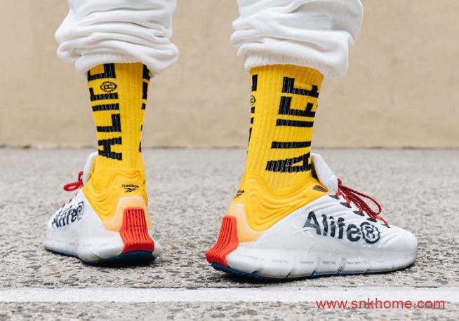 锐步猪大肠科技回归 Alife x Reebok Zig Kinetica 全新锐步Alife联名款球鞋发售日期-潮流者之家