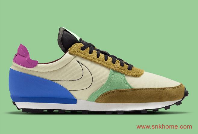 耐克复古跑鞋多材质鞋面 Nike Daybreak Type 全新配色官图释出 货号:DC3274-203-潮流者之家