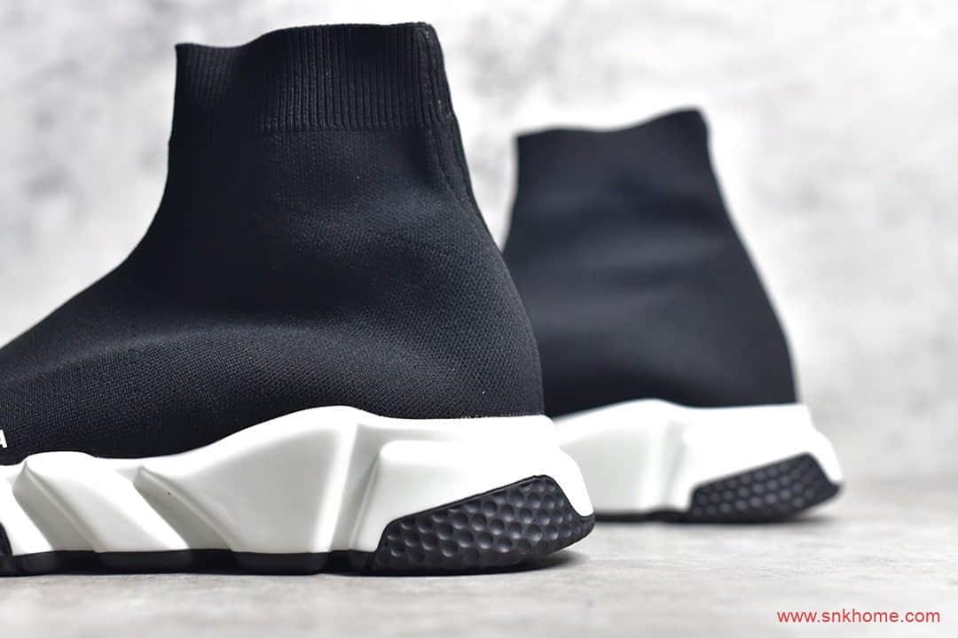 巴黎世家袜子鞋黑色圆筒袜子鞋 BALENCIAGA巴黎代工厂出货渠道-潮流者之家