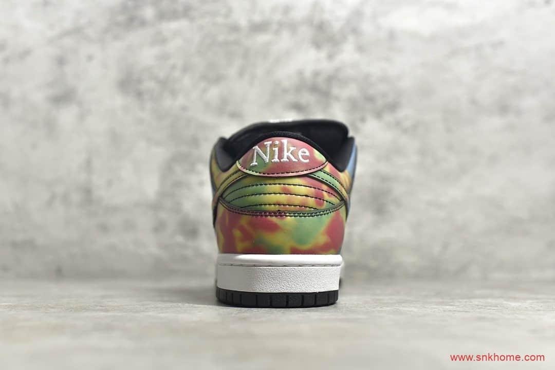 耐克DUNK SB热成像黑色低帮 Civilist x NIKE SB Dunk Low 耐克黑色变色鞋 货号:CZ5123-001-潮流者之家