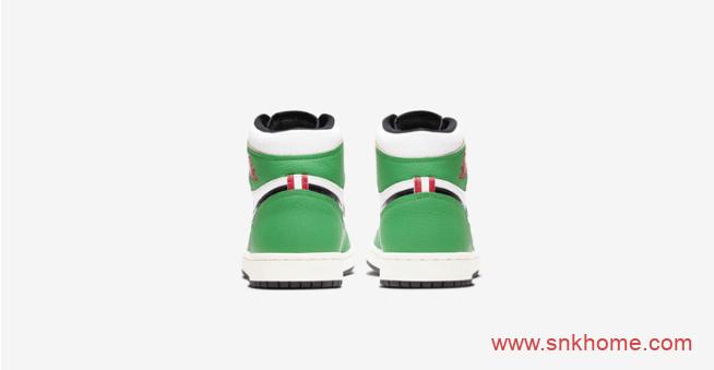 AJ1凯尔特人高帮终于上架 Air Jordan 1 High OG AJ1白绿黑色鞋带高帮新配色 货号:DB4612-300-潮流者之家
