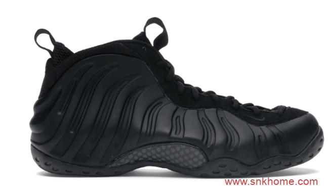 """耐克纯黑喷泡2020复刻款即将发售 Nike Air Foamposite One """"Anthracite"""" 耐克喷泡球鞋 货号:314996-001-潮流者之家"""