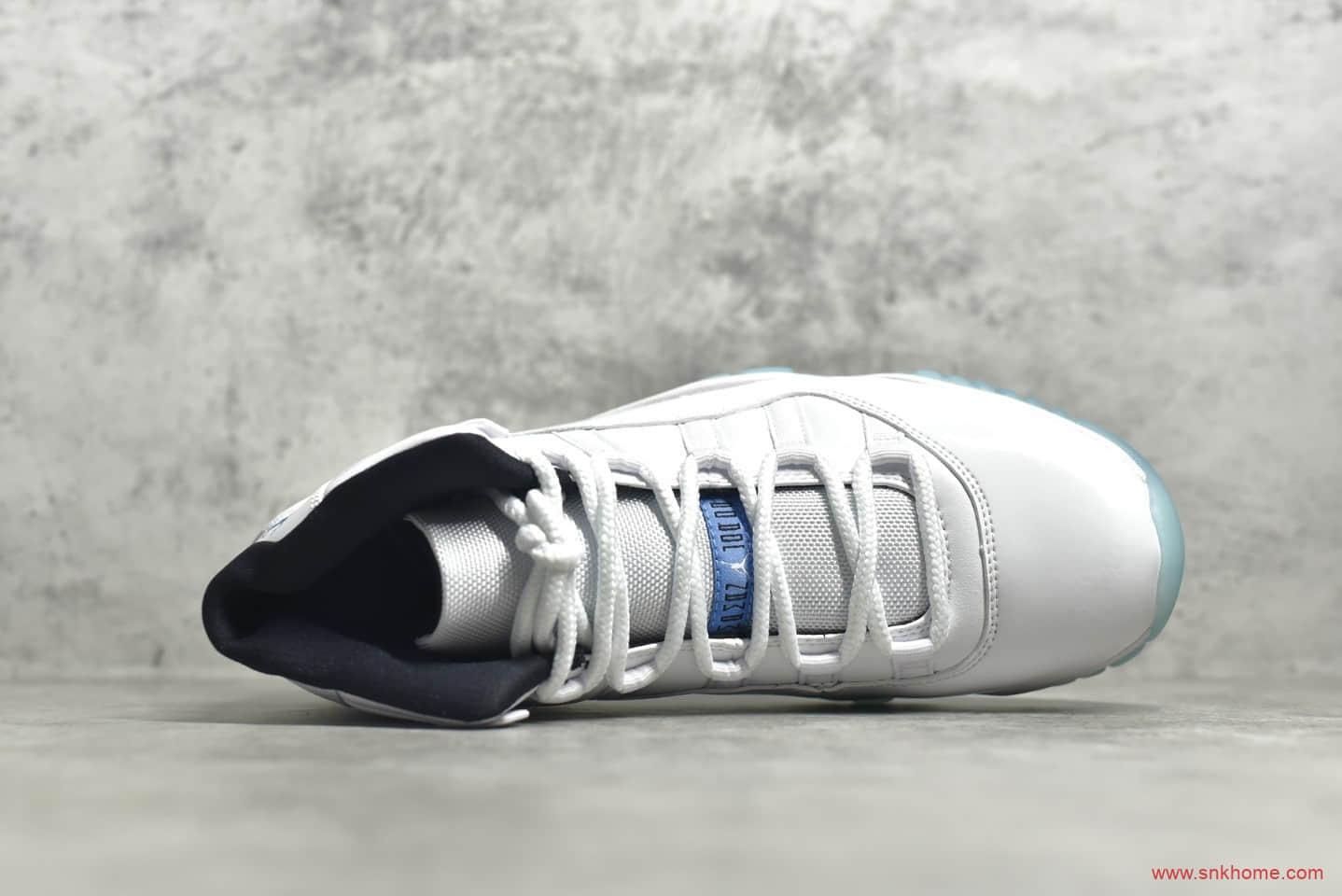 AJ11传奇蓝实战球鞋 Air Jordan 11 AJ11 传奇蓝 AJ11高帮篮球鞋原厂碳板 货号:378037-006-潮流者之家