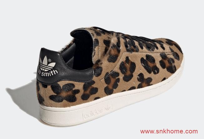 """阿迪达斯史密斯豹纹规格极高 adidas Stan Smith Recon """"Leopard"""" 三叶草史密斯板鞋 货号:FZ5466-潮流者之家"""