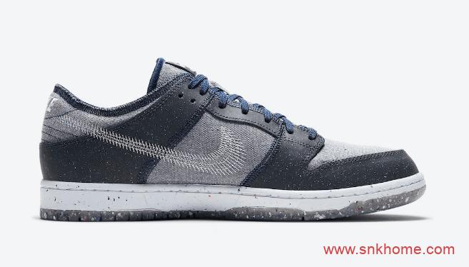 """耐克Dunk SB垃圾鞋新配色预告 Nike SB Dunk Low """"Crater"""" 耐克Dunk回收环保低帮板鞋 货号:CT2224-001-潮流者之家"""