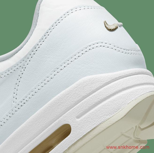 """耐克MAX1小白鞋 Nike Air Max 1 """"Asparagus""""耐克小白鞋新款越看越好看 货号:DH5493-100-潮流者之家"""