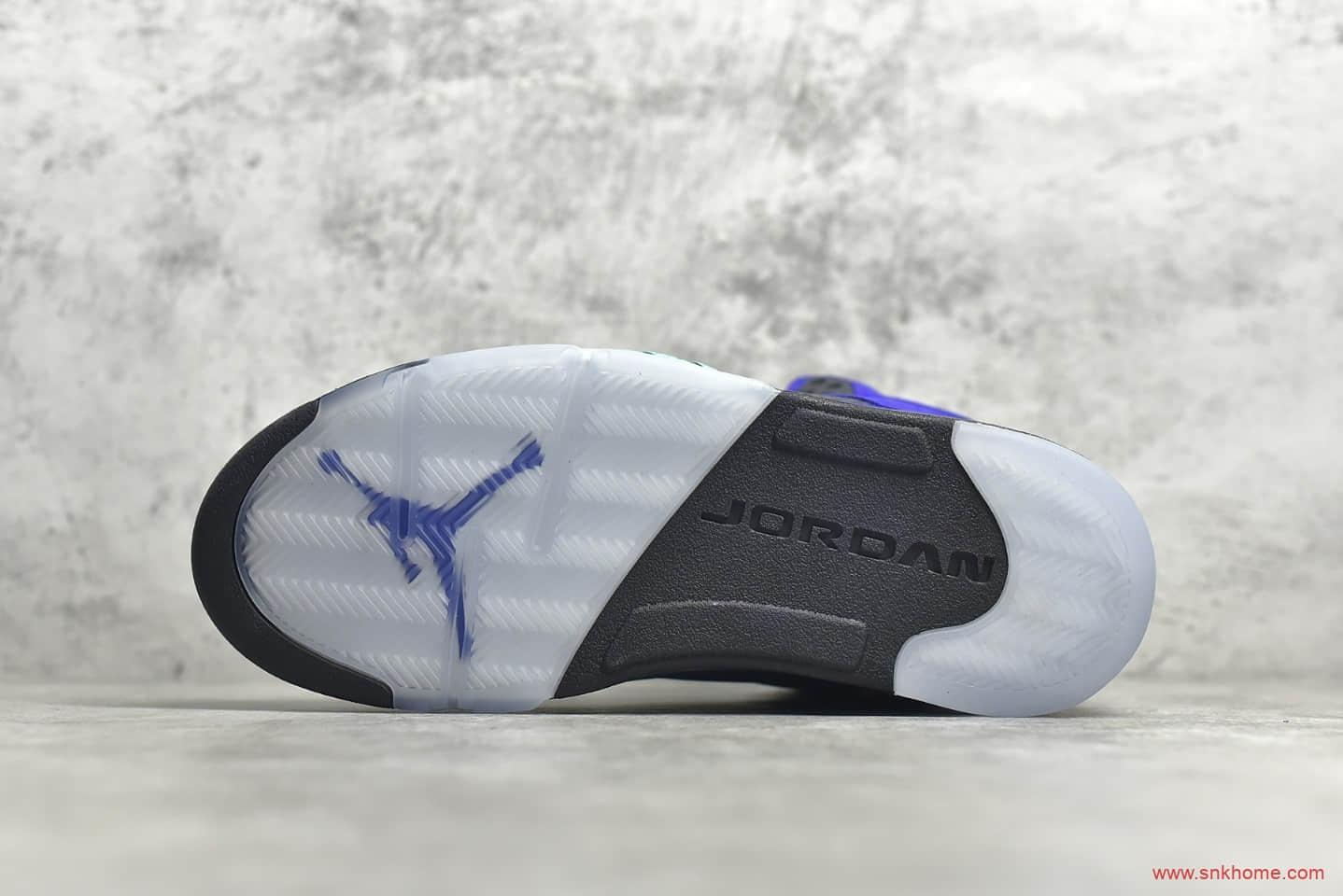 "AJ5紫色高帮球鞋 Air Jordan 5 ""Alternate Grape"" AJ5紫葡萄 货号:136027-500-潮流者之家"