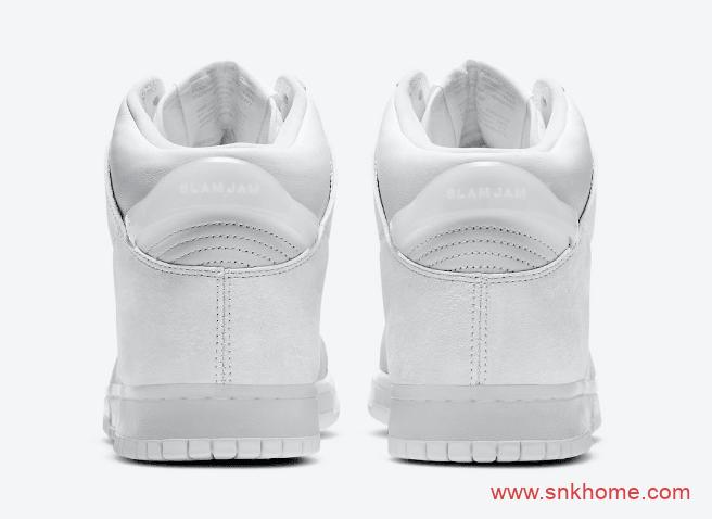 耐克Dunk SB时尚店铺联名款 Slam Jam x Nike Dunk High 耐克Dunk SB黑白高帮板鞋 货号:DA1639-100/DA1639-101-潮流者之家