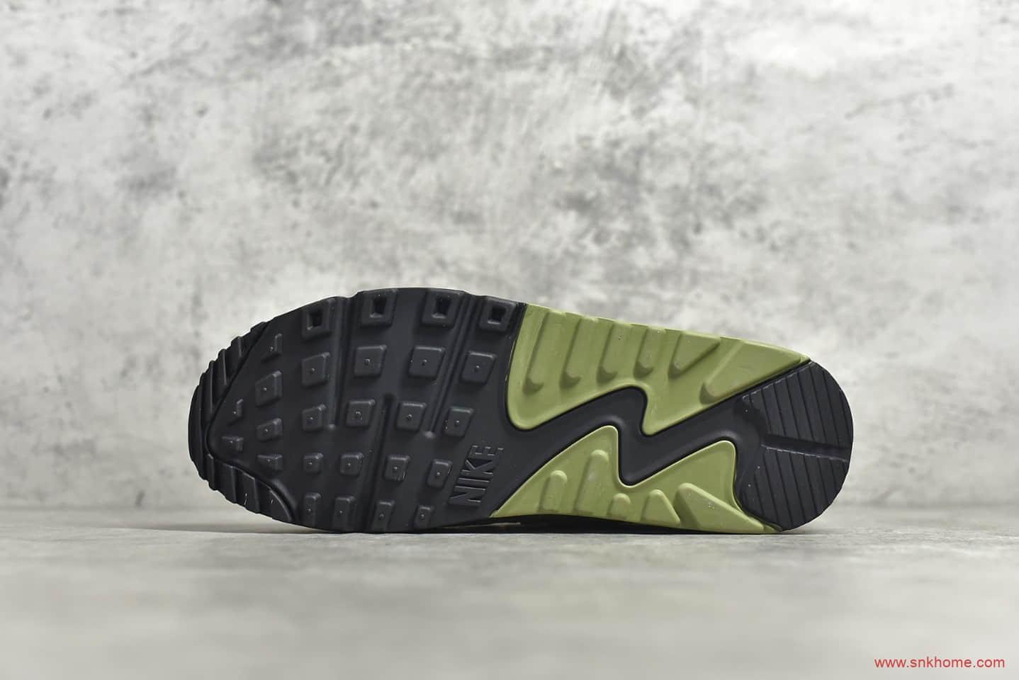 耐克MAX90沙漠灰仙人掌 NIKE AIR MAX 90 NRG Air Max 90 Desert Sand 耐克浅灰色气垫跑鞋 货号:CI5646-200-潮流者之家