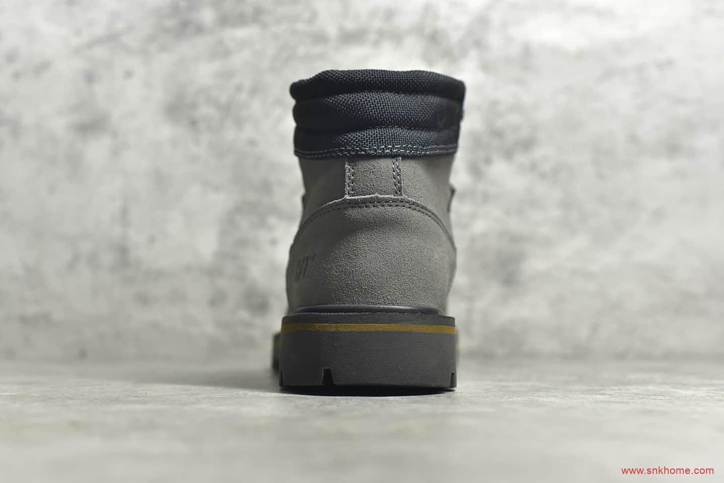 卡特工装马丁靴中帮 CAT P722786 莆田卡特马丁靴货源 卡特工装中帮正品全新出炉-潮流者之家