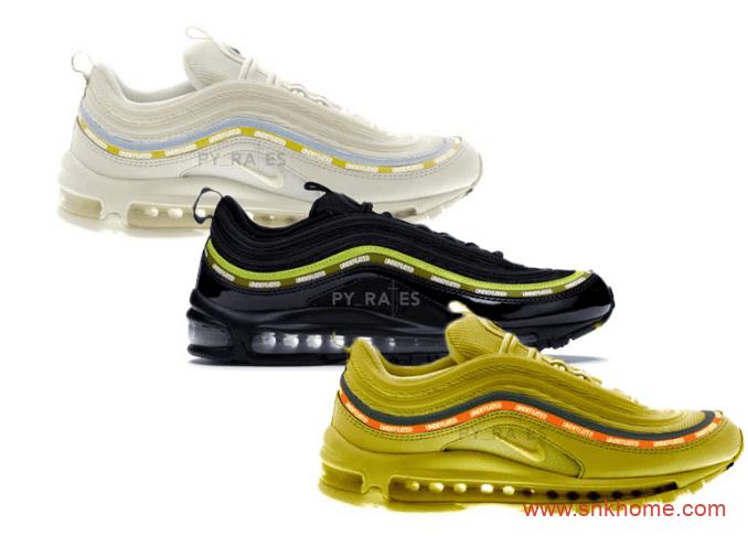 耐克MAX97Undefeated 联名天价鞋款 Undefeated x Nike Air Max 97三个配色发售日期 货号:DC4830-300-潮流者之家