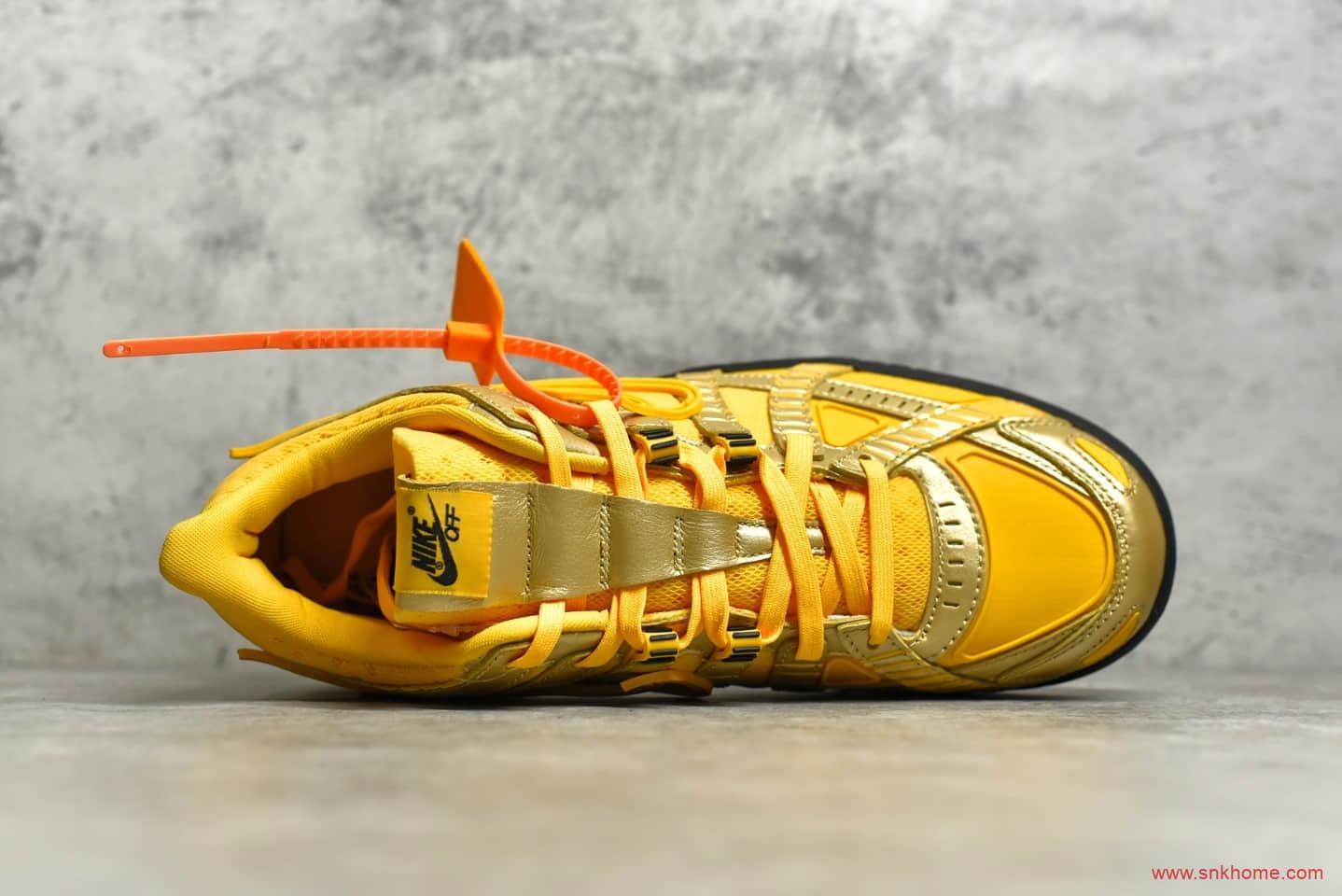 耐克Dunk SB OW联名黄色低帮板鞋 OFF-White x NIKE Air Rubber Dunk