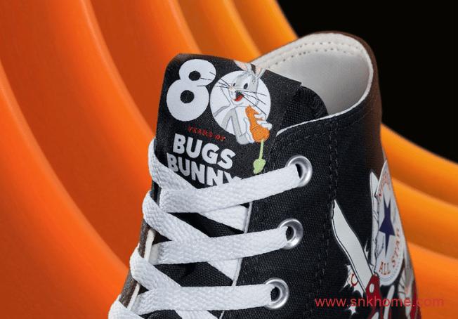 匡威兔八哥联名帆布鞋 Bugs Bunny x Converse Pro Leather、Chuck 70 匡威1970S兔八哥黑色高帮白色低帮-潮流者之家