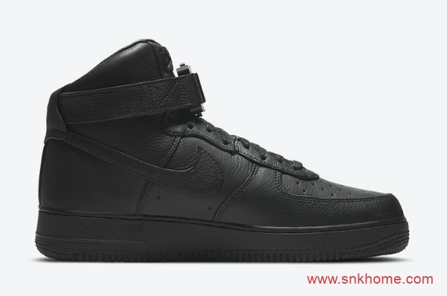 耐克空军Alyx联名款高帮板鞋预售价7000 Alyx x Nike Air Force 1 High实物图曝光 货号:CQ4018-001-潮流者之家