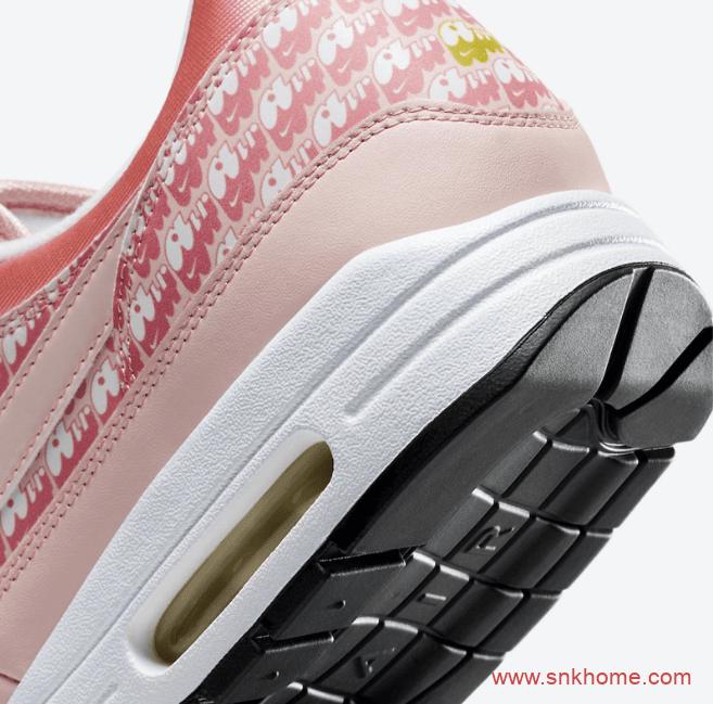 "耐克MAX1粉色草莓装饰 Nike Air Max 1 ""Strawberry Lemonade""发售日期 货号:CJ0609-600-潮流者之家"