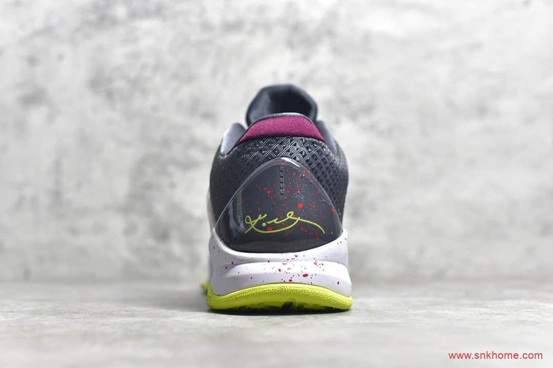 耐克科比五代小丑球鞋实战篮球鞋 NIKE Zoom Kobe 5 Protro Chaos 科比5代紫色低帮球鞋 货号:CD4991-100-潮流者之家