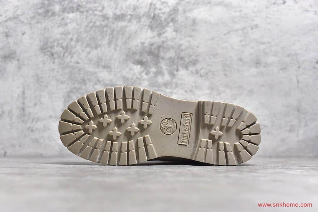 天伯伦联名款冰淇淋棕色马丁靴 Timberland x BILLIONAIRE BOYS CLUB 天伯伦Premium 6Inch Boot系列-潮流者之家