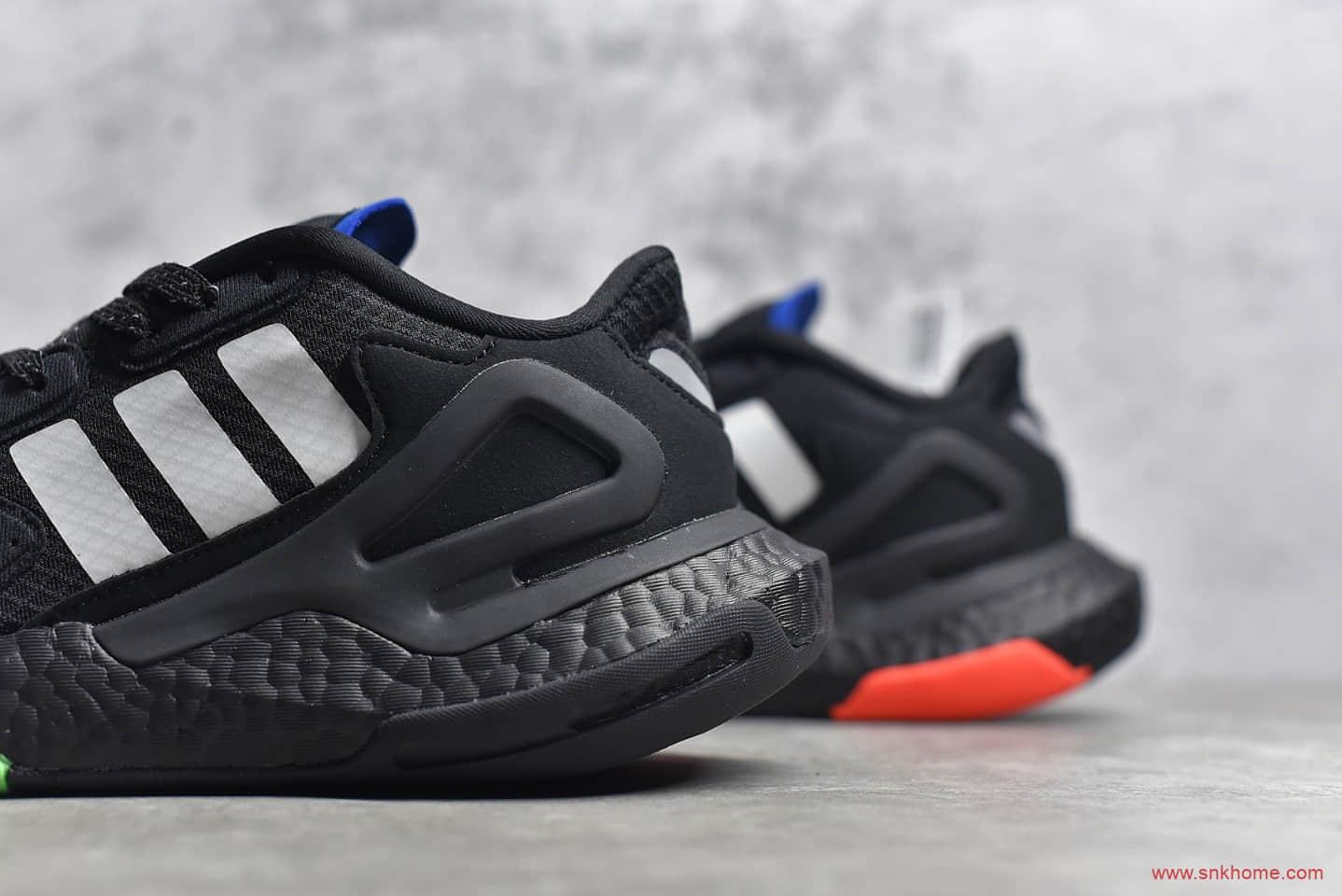 阿迪达斯夜行者二代黑色 adidas Day Jogger 2020 Boost 阿迪达斯3M反光BOOST跑鞋 货号:FW3019-潮流者之家