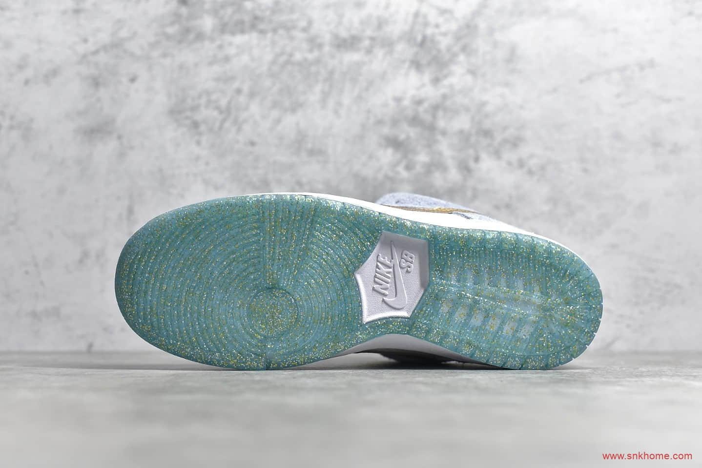 耐克SB Dunk冰雪奇缘 Sean Cliver x NIKE SB Dunk Low Pro QS 耐克联名款滑板鞋 货号:DC9936-100-潮流者之家