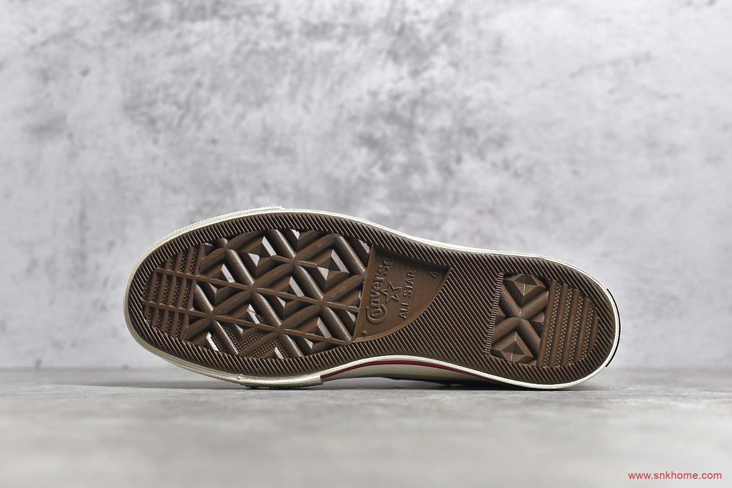 匡威大标红色高帮帆布鞋纯原版本 Converse Chuck Logo 匡威1970S红色帆布鞋 货号:170049C-潮流者之家