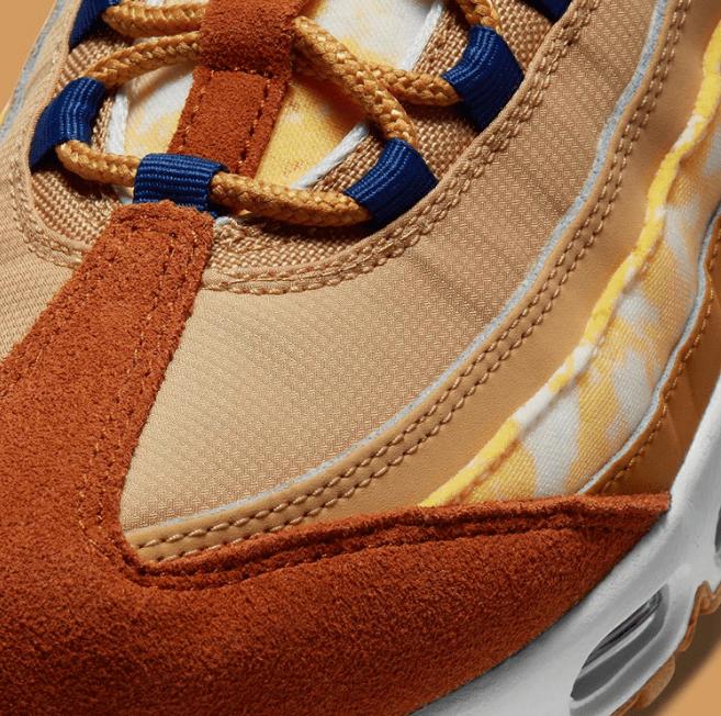 耐克MAX95多色拼接鞋面 Nike Air Max 95 耐克棕色老爹鞋发售日期 货号:CU1560-700-潮流者之家