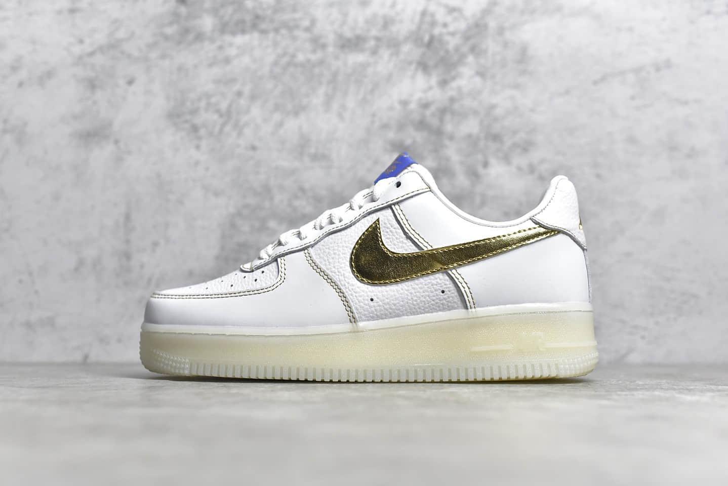 耐克空军洛杉矶限定纯原版本 Nike Air Force 1'07 Low 耐克空军一号白金荔枝皮低帮 货号:CJ1686-130-潮流者之家
