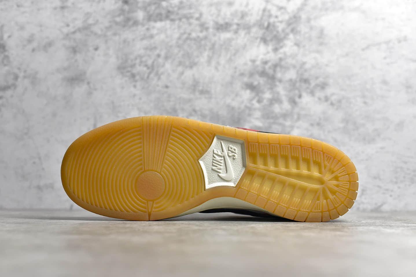 """耐克Dunk SB Habibi联名款双钩白红Frame Skate x NIKE SB Dunk Low """"Habibi"""" 耐克Dunk低帮板鞋 货号:CT2550-600-潮流者之家"""