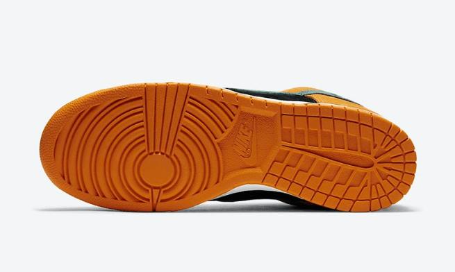 """耐克Dunk丑小鸭套装发售 Nike Dunk Low SP """"Ceramic"""" 耐克Dunk丑小鸭黑橙绿低帮 货号:DA1469-001-潮流者之家"""