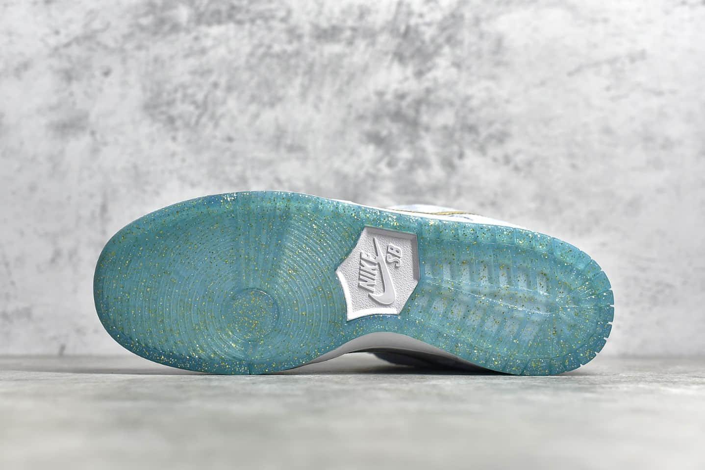 耐克Dunk冰雪奇缘联名款 Sean Cliver x NIKE SB Dunk Low Pro QS 耐克Dunk艺术家低帮滑板鞋 货号:DC9936-100-潮流者之家