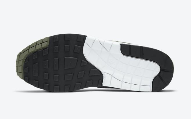 耐克MAX1白灰浅绿配色复古跑鞋 Nike Air Max 1 Spiral Sage 耐克超高规格全皮革打造 货号:DB5074-100-潮流者之家