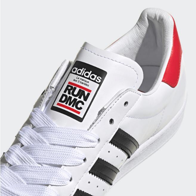 阿迪达斯贝壳头球鞋励志最重要的联名款 Run DMC x adidas Superstar 贝壳头五十周年纪念款 货号:FX761-潮流者之家