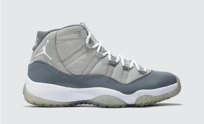 """AJ11灰色高帮实物图曝光 Air Jordan 11 Retro """"Cool Grey"""" 酷灰 AJ11复刻明年回归 货号:CT8012-005-潮流者之家"""