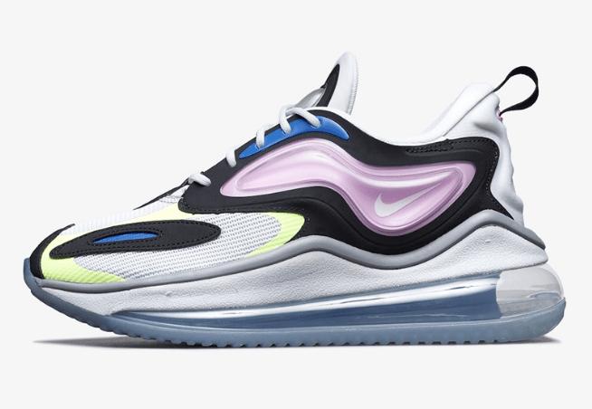 """耐克三块气垫白黑跑鞋 Nike Air Max Zephyr """"Photon Dust""""全新配色发售日期 货号:CT1845-002-潮流者之家"""