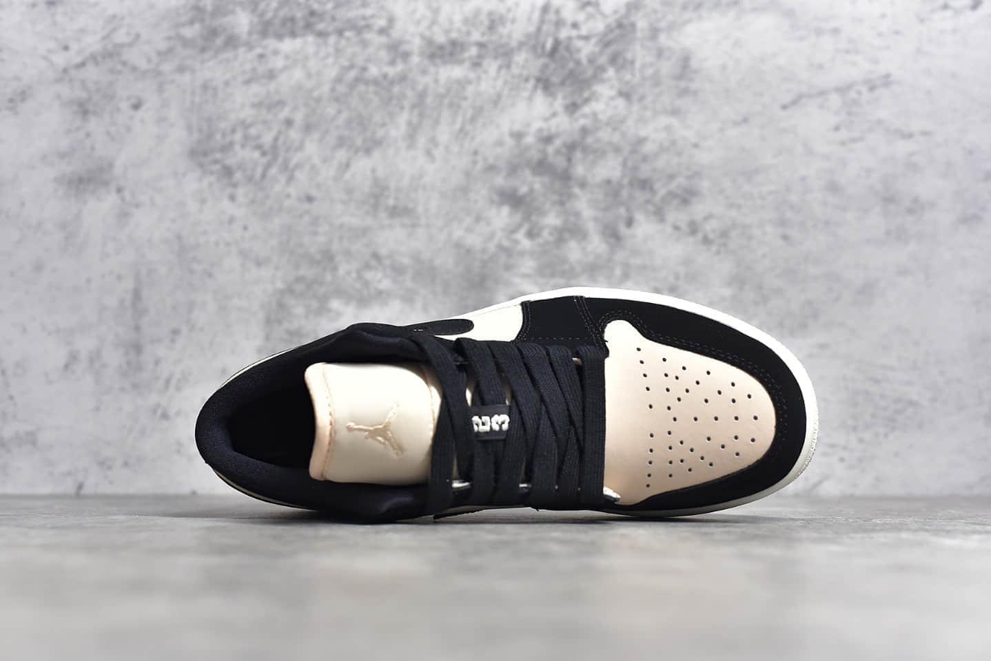 AJ1黑粉低帮 AJGS版本 Air Jordan 1 低帮 莆田顶级YH纯原版本 货号:DC0774-003-潮流者之家