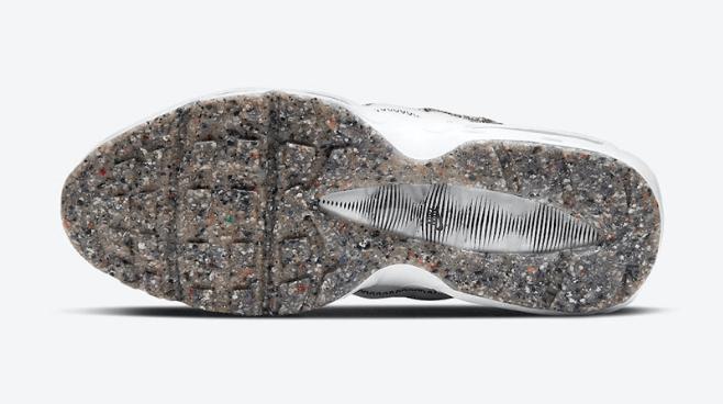 耐克MAX95环保主题 耐克垃圾鞋 Nike Air Max 95 Crater耐克MAX95奥利奥发售日期 货号:CV8830-100-潮流者之家