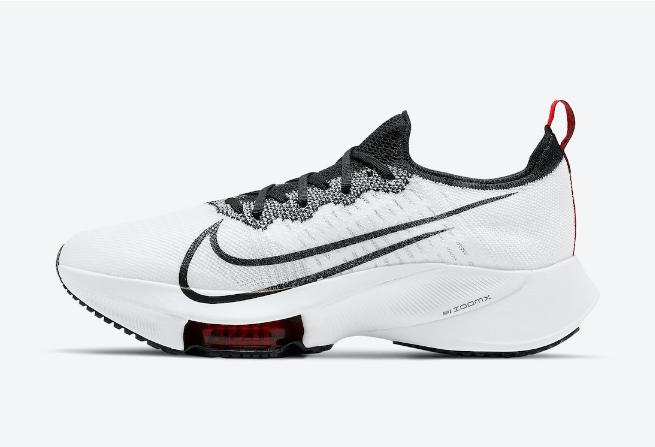 耐克NEXT%白黑色跑鞋 Nike Air Zoom Tempo NEXT% 耐克黑白红全新配色即将发售 货号:CI9923-102-潮流者之家