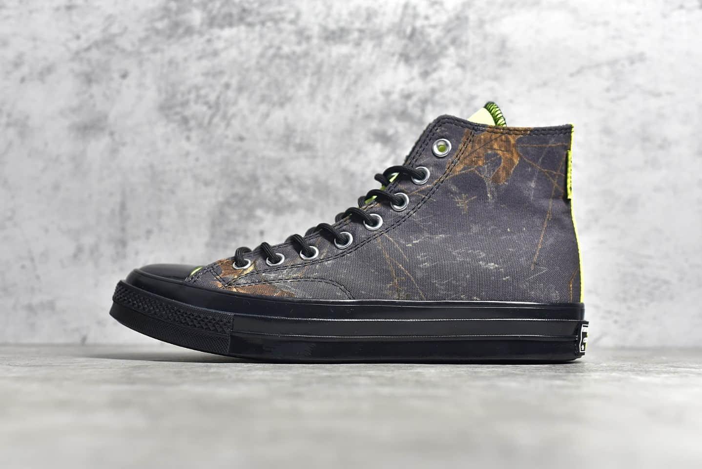 匡威张艺兴同款黑色高帮 Converse GORE-TEX鞋面 匡威新兴城市机能系列 货号:169364C-潮流者之家