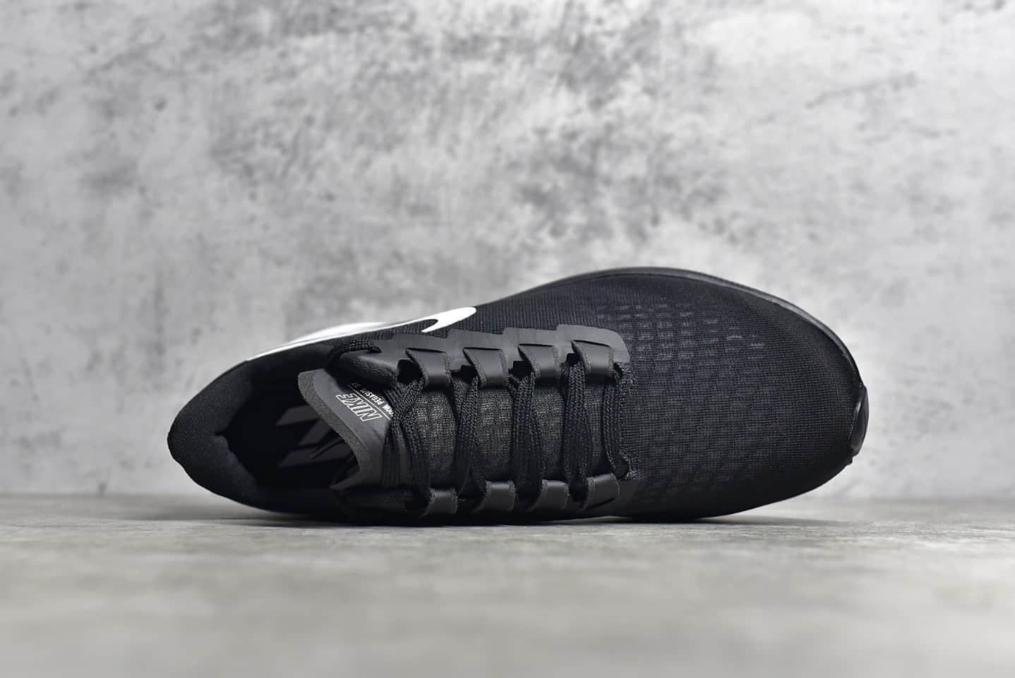 耐克登月37代黑白低帮跑鞋 NIKE Air Zoom 37 耐克顶级登月货源 货号:BQ9646-002-潮流者之家