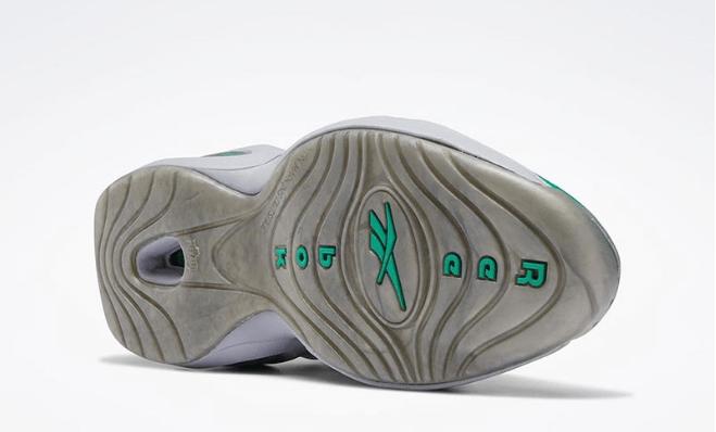 """锐步艾弗森橄榄队球衣元素加持 Reebok Question Mid """"Philadelphia Eagles"""" 新款艾弗森球鞋 货号:FZ399-潮流者之家"""